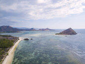 Indonesia, West Sumbawa, Kertasari, Aerial view of beach - KNTF02358