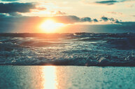 Scenic view of the sea at sunset - INGF07874