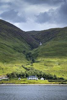 United Kingdom, Scotland, Scottish Highland, Sutherland, Aultanrynie, desert village settlement - ELF01955