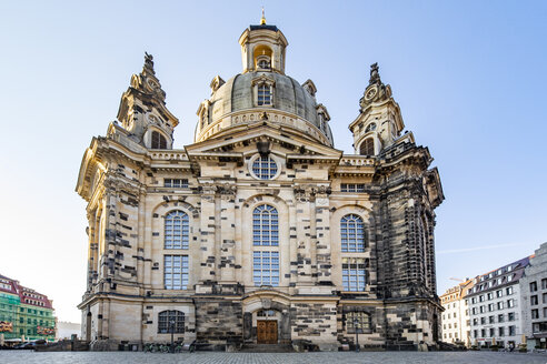 Germany, Dresden, view to Church of Our Lady - JATF01097