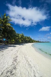 Cook Islands, Rarotonga, Aitutaki lagoon, beach - RUNF00278