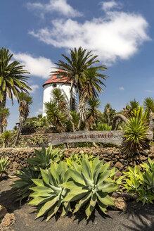 Spain, Lanzarote, Tiagua, Museo Agricola El Patio, wind mill - MAB00505