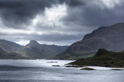 United Kingdom, Scotland, Sutherland, Unapool, Loch Glencoul - ELF01966