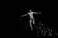 A man swimming in the sea - INGF08197