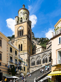 Italy, Amalfi, view to Cathedral of Sant'Andrea - AM06334
