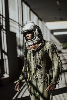 Standing astronaut in spacesuit - JCMF00015