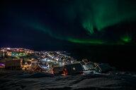 Northern lights over Nuuk - INGF08380