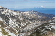 Hokkaido, Shiretoko National Park, Snowcapped mountains - RUNF00317