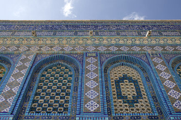 Israel, Jerusalem, Dome of the rock, mosaic - PSTF00275