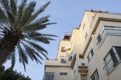 Israel, Tel Aviv, White City, Rothschild Boulevard, Bauhaus style - PSTF00293