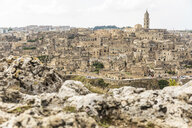 Italy, Basilicata, Matera, Townscape and historical cave dwelling, Sassi di Matera - WPEF01172
