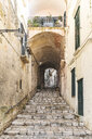 Italy, Basilicata, Matera, Old town, alley - WPEF01175
