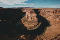 High angle view of Horseshoe Bend at Grand Canyon National Park - CAVF58042