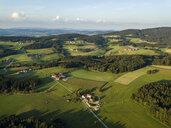Germany, Bavaria, Passau, Aerial view of Passau region - JUNF01530
