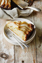 Home-baked glutenfree pear pie made of buckwheat flour - EVGF03396