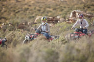 Group of people quad biking in South Africa - ZEF16066