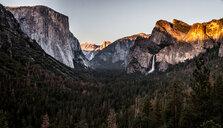 Beautiful scenic nature scene of the mountains - INGF09503