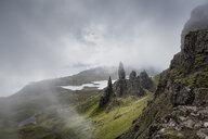 UK, Scotland, Inner Hebrides, Isle of Skye, Trotternish, Old Man of Storr - ELF01981