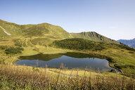 Germany, Bavaria, Allgaeu, Allgaeu Alps, Fellhorn, Lake Schlappoltsee - WIF03699