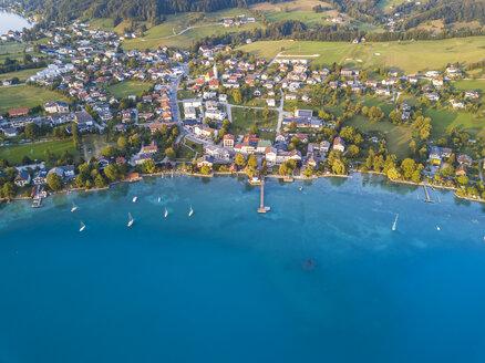 Austria, Upper Austria, Weyregg , Lake Attersee - JUNF01646