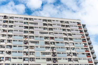 Hong Kong, Choi Hung, apartment block - DAWF00795
