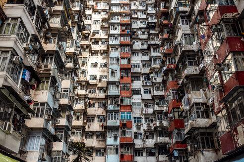 Hong Kong, Quarry Bay, apartment blocks - DAWF00807