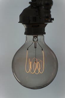 Light bulb with glowing filament - SKAF00086