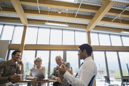 Business people talking in meeting - HEROF02247