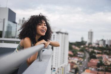 Mixed race girl in Panama City apartment - KKAF03096
