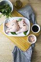 Raw chicken in gratin dish - GIOF05276
