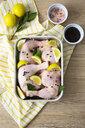 Raw chicken in gratin dish - GIOF05279