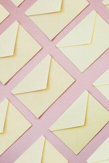 Yellow envelopes as background - MOMF00576