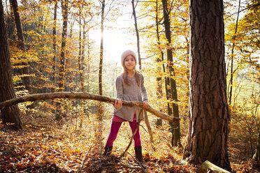 Mädchen, Herbst, Baden-Württemberg - LVF07633