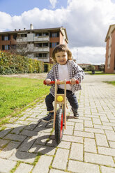 Italy, Tuscany, Florence, Mother and Toddler Son - MGIF00298