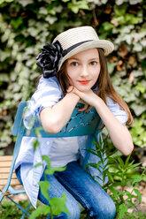 Porträt Foto junges Mädchen - VWF00016