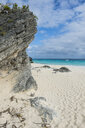 Bermuda, White sand beach in Chaplin´s bay - RUNF00652