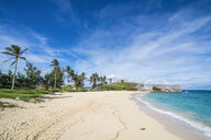 Bermuda, St. George's, Fort St. Catherine and the white sand beach - RUNF00682