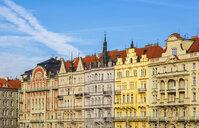 Czechia, Prague, row of houses - JUNF01651