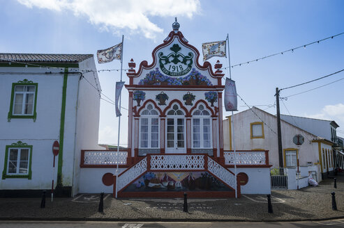Portugal, Azores, Island of Terceira, Vila Sao Sebastiao, Imperio do Espirito Santo de Sao Sebastiao - RUNF00784