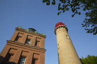 Germany, Ruegen, Cape Arkona, Cape Arkona Lighthouse and Schinkel Tower - MAMF00262