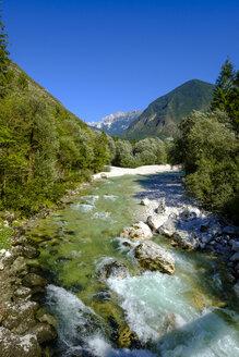 Slovenia, Soca Valley, near Trenta, Soca River, Triglav National Park - LBF02325