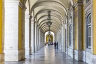 Europe, Portugal, Lisbon, view of Praca do Comercio - MABF00516