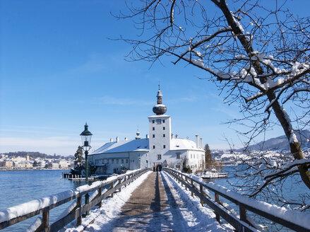 Austria, Salzkammergut, Gmunden, Ort Castle - WWF04647