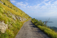 Montenegro, mountain road at south shore of Lake Skadar - SIEF08293