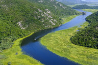 Montenegro, river Crnojevic seen from Pavlova Strana lookout - SIEF08305