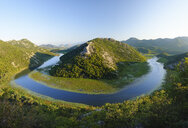 Montenegro, loop of river Crnojevic seen from Pavlova Strana lookout - SIEF08308