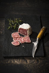 Salami with white truffle and parmesan - MAEF12760