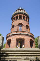 Ernst-Moritz-Arndt-Turm auf dem Rugard, Bergen auf Rügen, Ostseeinsel Rügen, Ostsee, Mecklenburg-Vorpommern, Deutschland - MAMF00315
