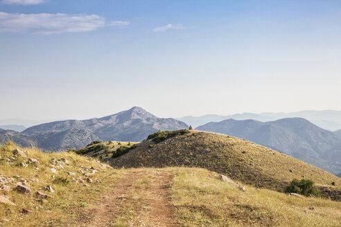 Greece, Peloponnese, Arcadia, Lykaion, mountain panorama - MAMF00325