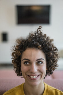Portrait of smiling woman at home - JOSF02722